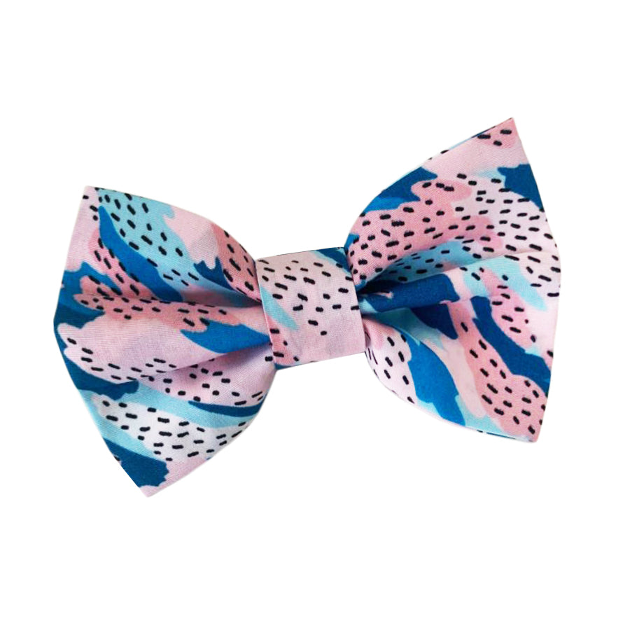 Wren & Rye - Candy Camo Cotton Bow Tie