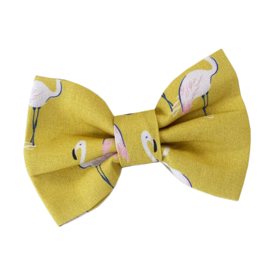 Wren & Rye - Flamingo Cotton Bow Tie