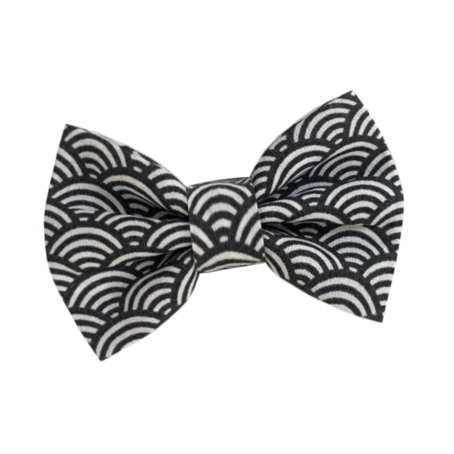 Wren & Rye - Grey Deco Cotton Bow Tie
