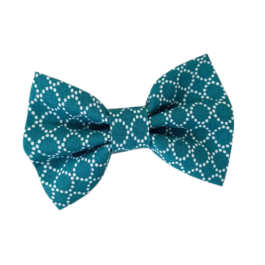 Wren & Rye - Tropical Turquoise Cotton Bow Tie