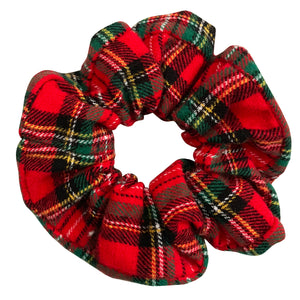 Wren & Rye - Red Tartan Hair Scrunchie