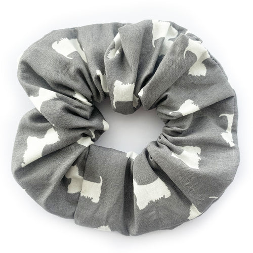 West Highland Terrier Print Scrunchie