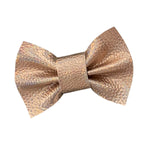 Wren & Rye - Holographic Rose Dog Bow Tie