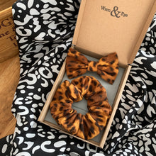 Load image into Gallery viewer, Wren & Rye - Tan Leopard Print - Gift Set