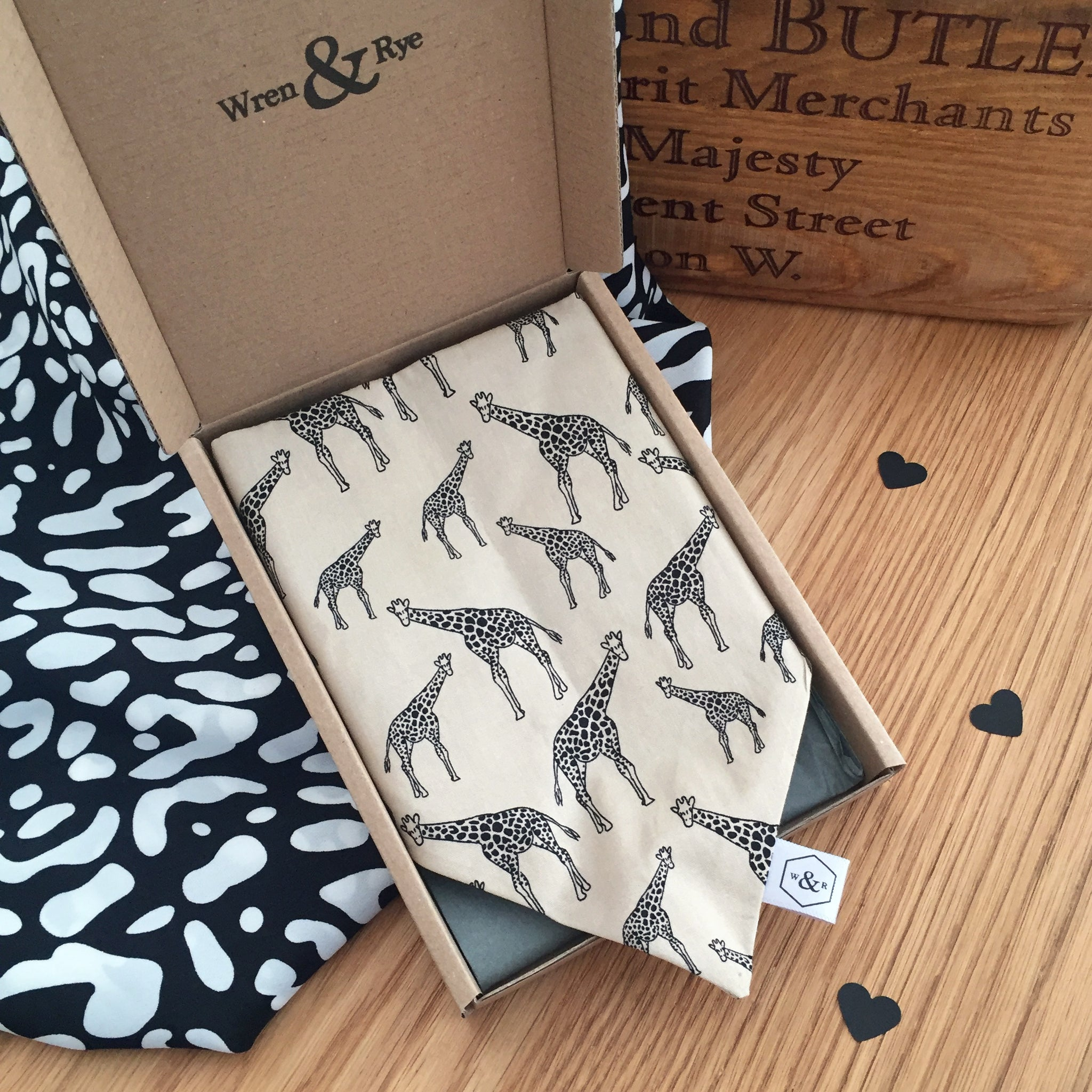 Wren & Rye - Woofing Wild Bandana Packaged
