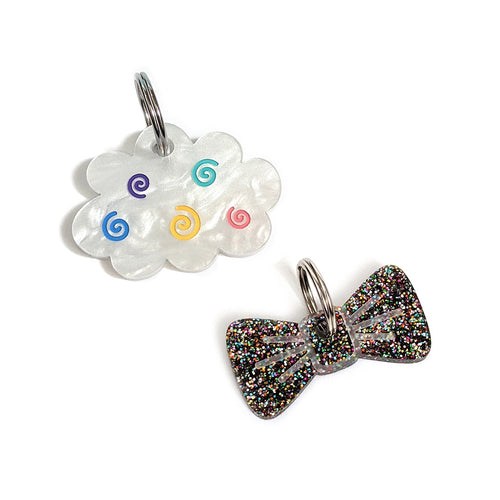Mini Cloud Gift Box - Rainbow Cloud and Disco Glitter