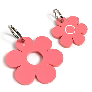 Coral Blossom Pooch & Pooch Parent DaisyDangle Set