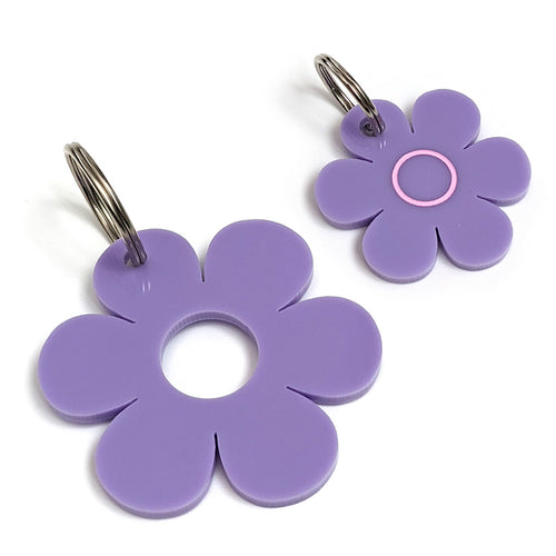 Lovely Lilac Pooch & Pooch Parent DaisyDangle Set