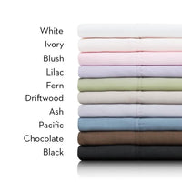 Woven 600 TC Cotton Blend Sheets