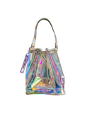 HOLOGRAPHIC BUCKET BAG
