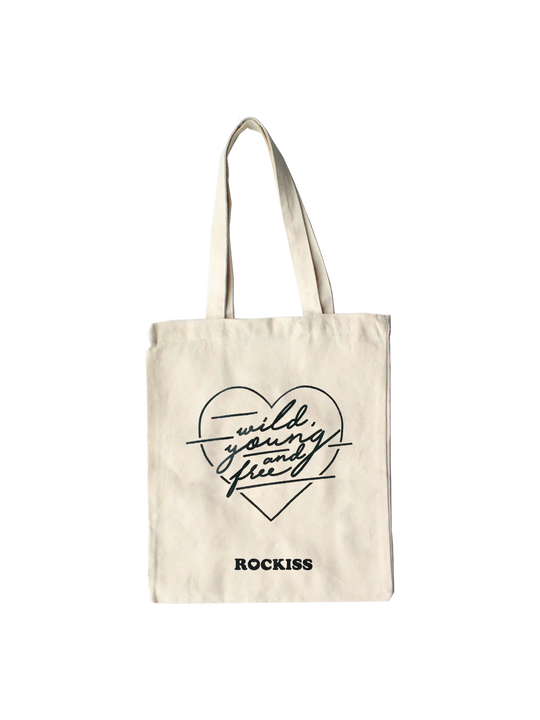 WILD YOUNG & FREE TOTE BAG