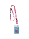 WHAT'S THE TEA PINK LANYARD