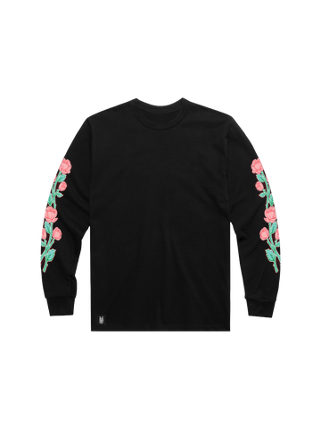 ROSES LONG SLEEVED T-SHIRT