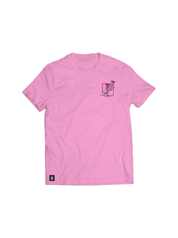WHISPER OF ROSES PINK T-SHIRT
