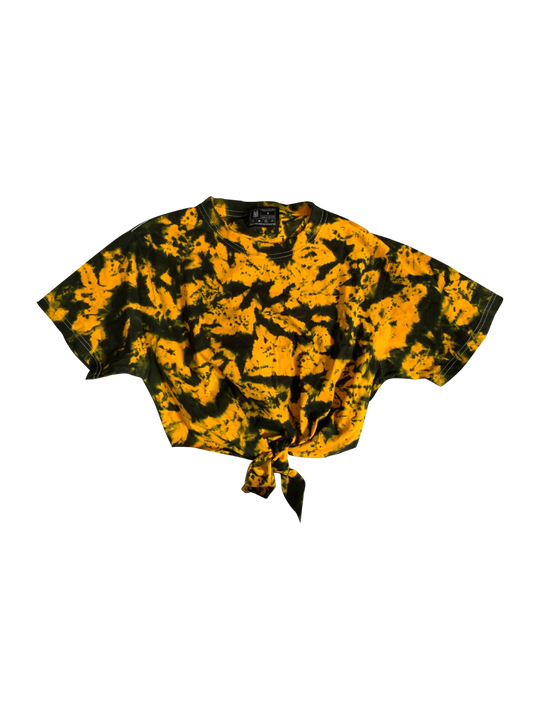 BUMBLE TIE DYE CROP TOP