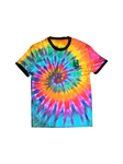 RAINBOW CREW PIPED T-SHIRT