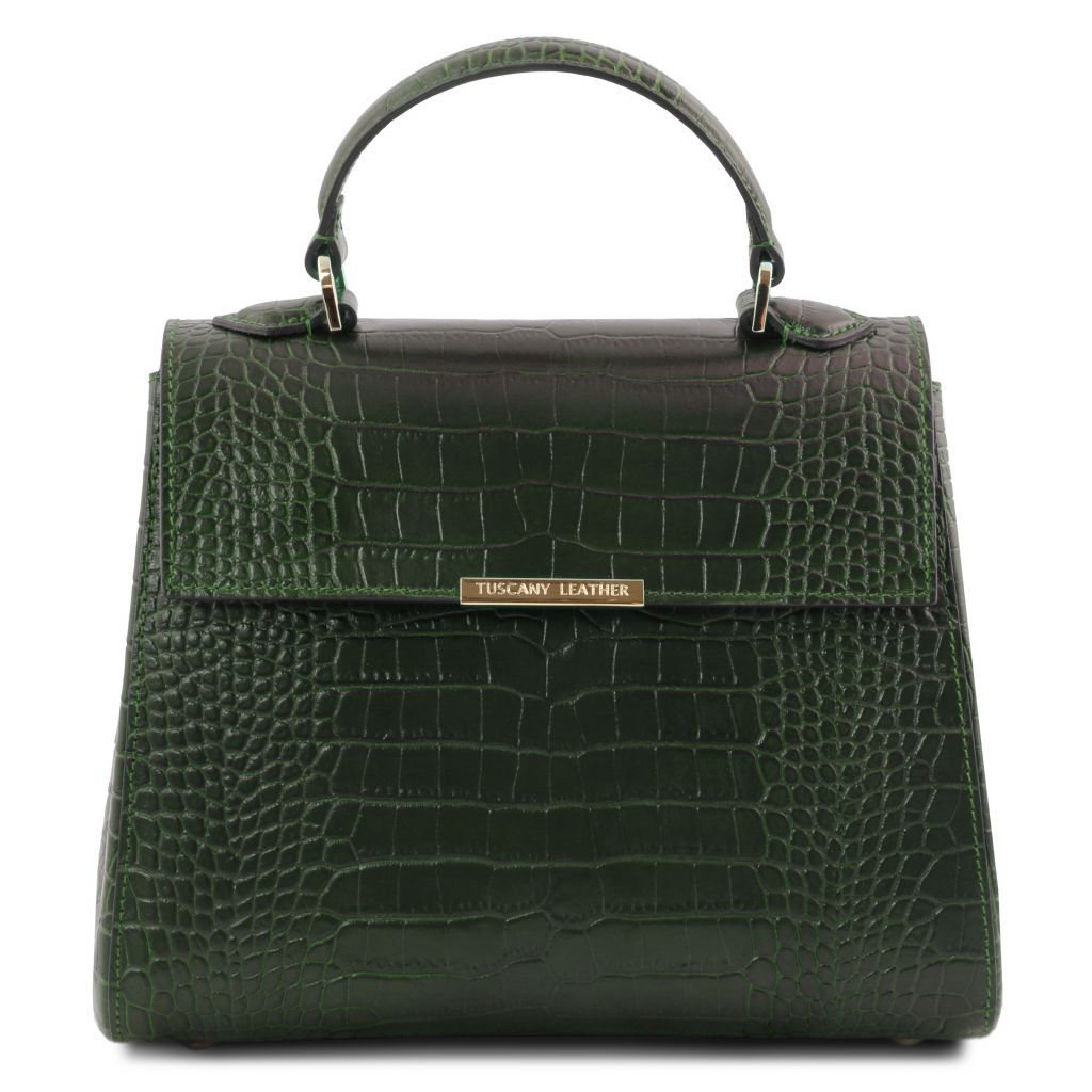 TL Croc-Embossed Top Handle Bag_4