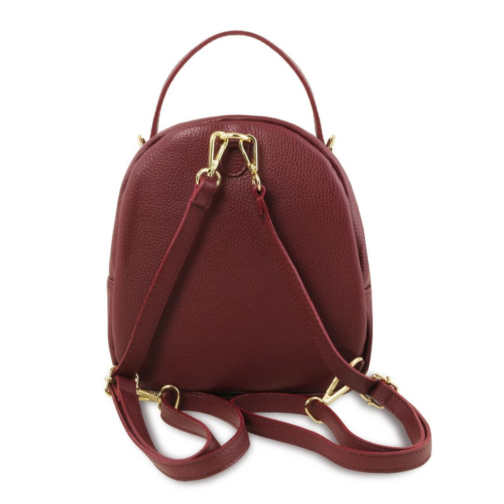 TL Hammered Leather Backpack For Women_26
