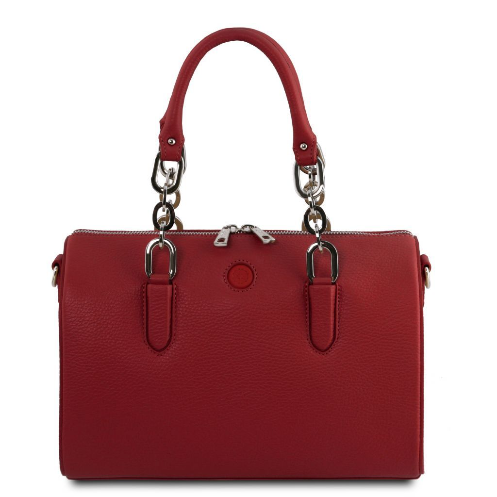 Narciso Hammered Leather Duffle Bag_3
