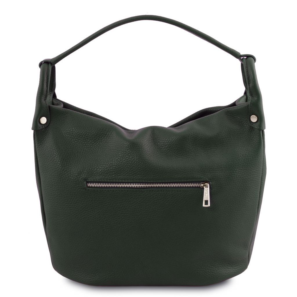 TL Embossed Leather Hobo Bag_24
