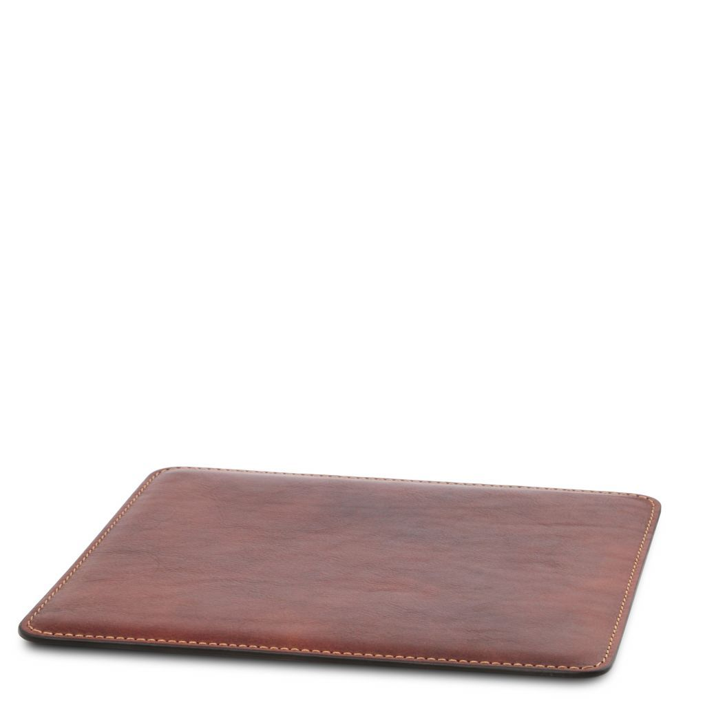 Vegetable Tanned Leather mouse pad_2