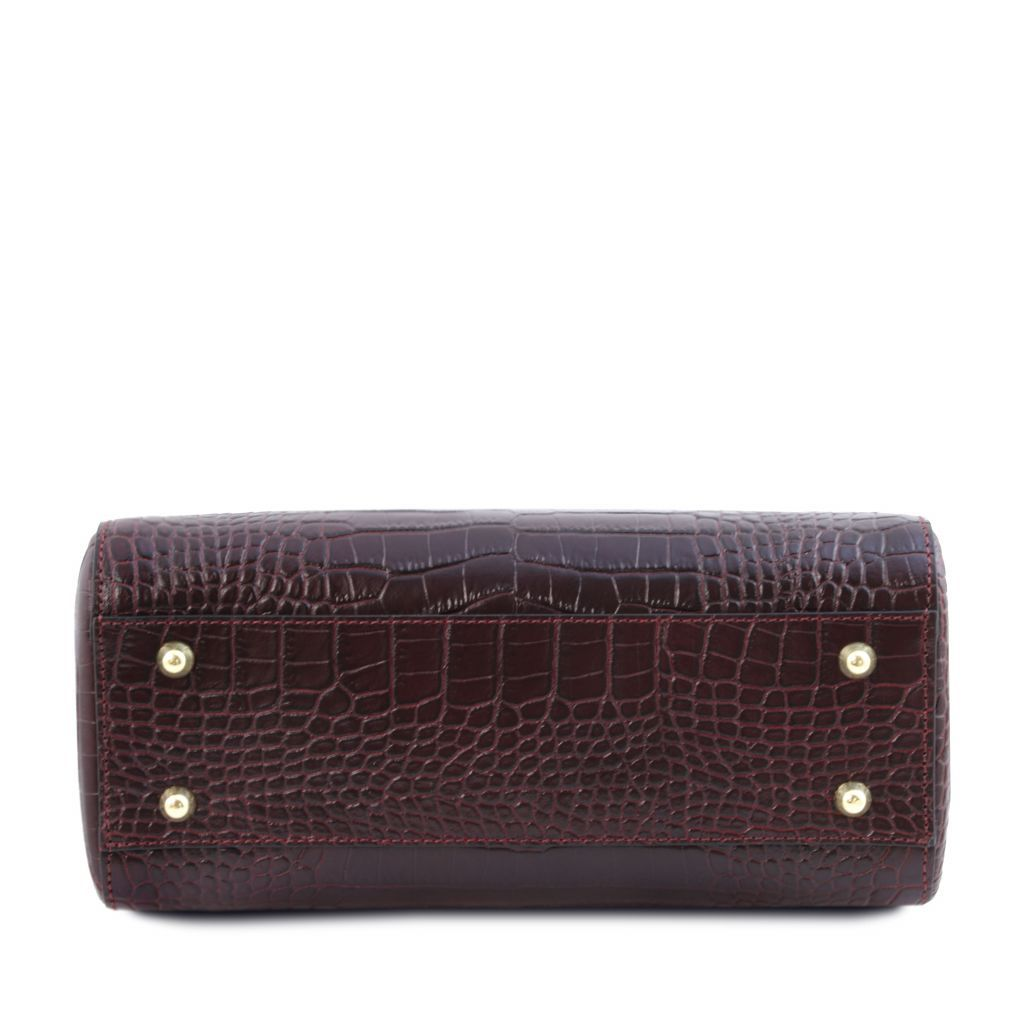 TL Croc-Embossed Top Handle Bag_10