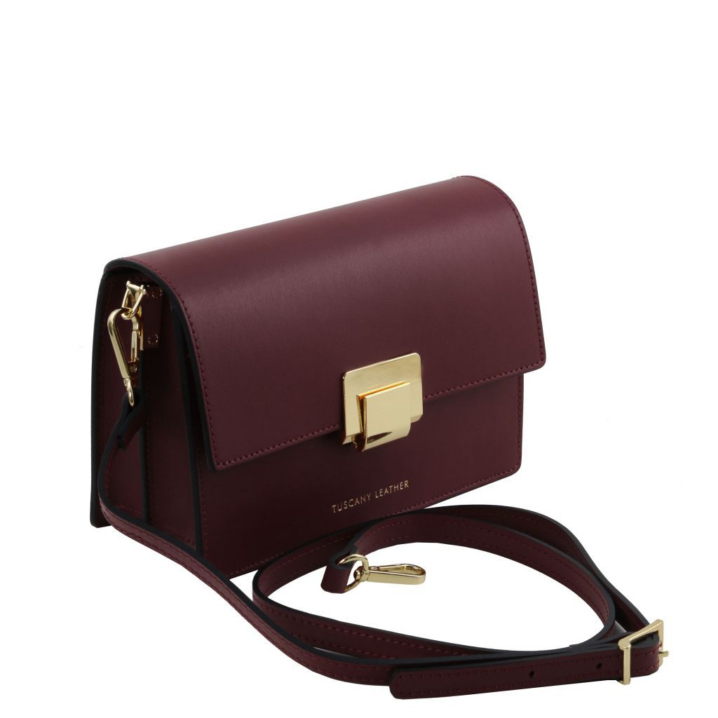 Adele Smooth Leather Clutch_22
