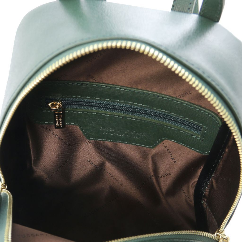 TL Small Saffiano Leather Backpack For Women_24