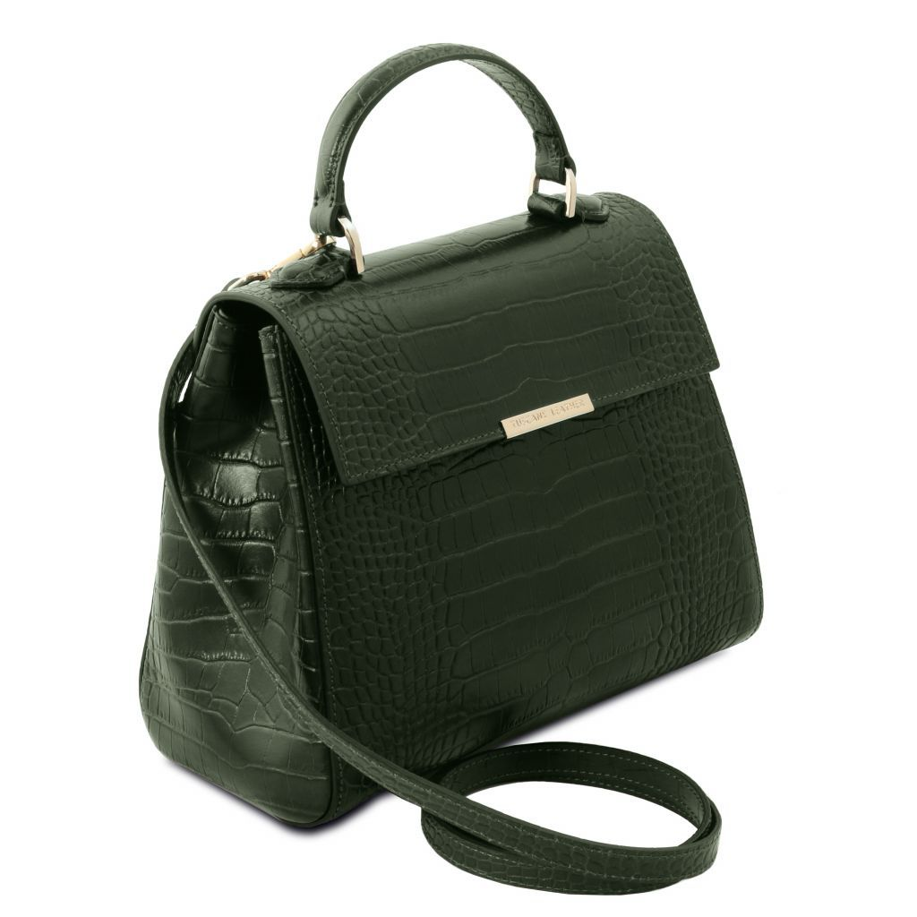 TL Croc-Embossed Top Handle Bag_17