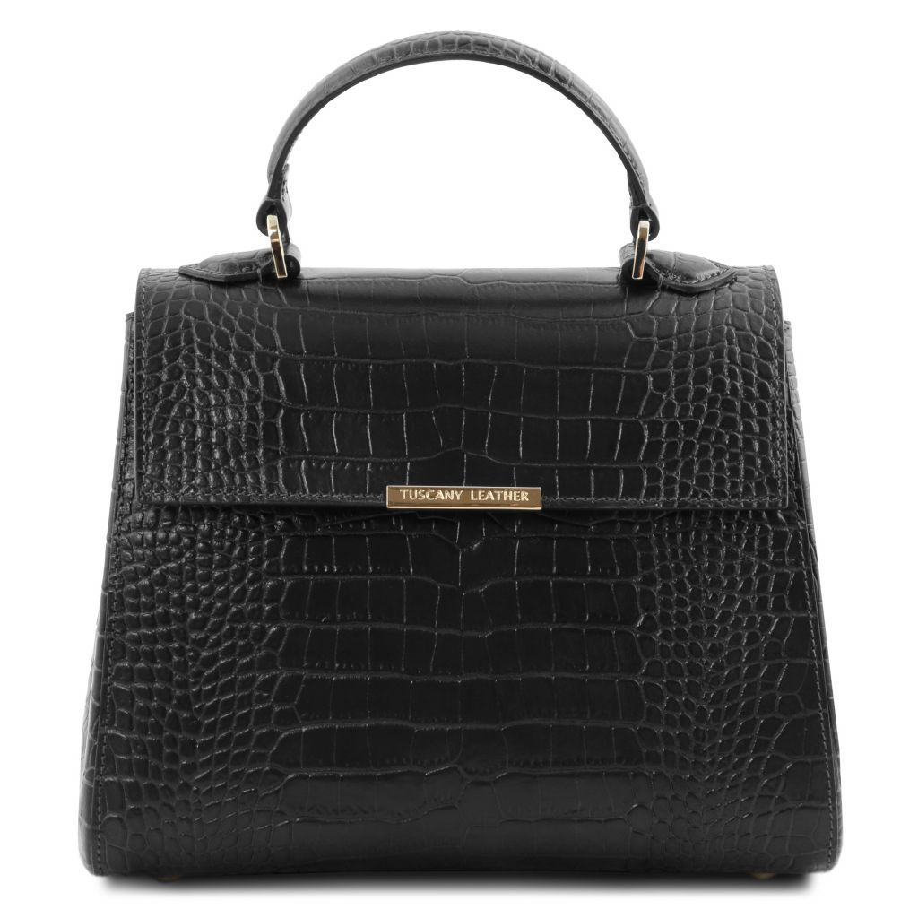 TL Croc-Embossed Top Handle Bag_3