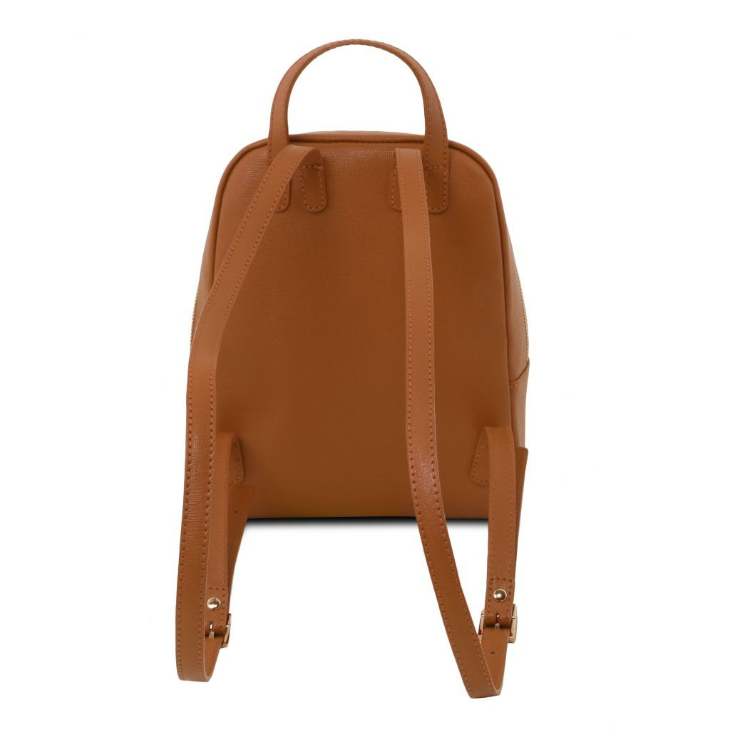 TL Small Saffiano Leather Backpack For Women_18