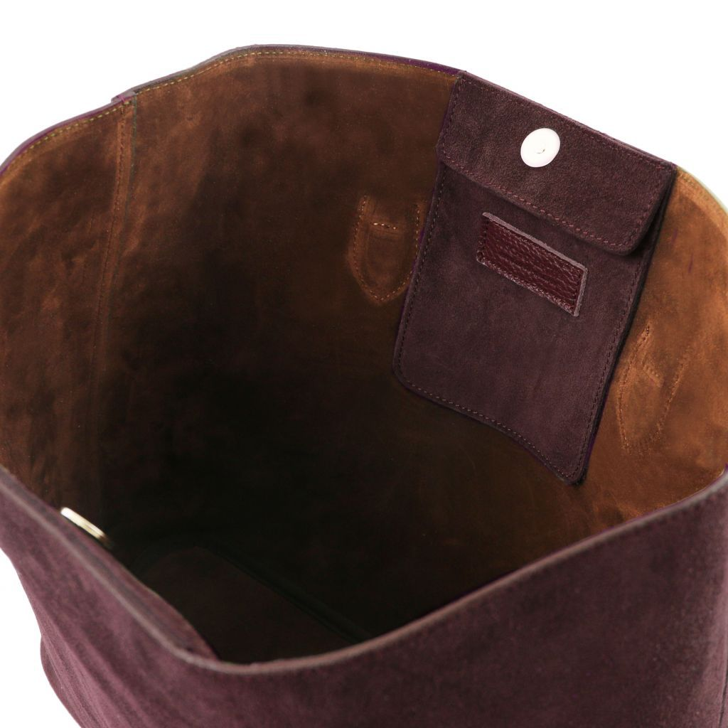 TL Suede Leather Shopping Bag_11