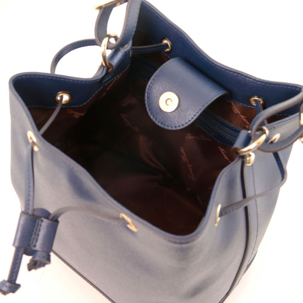 Minerva Saffiano Leather Bucket Bag_23