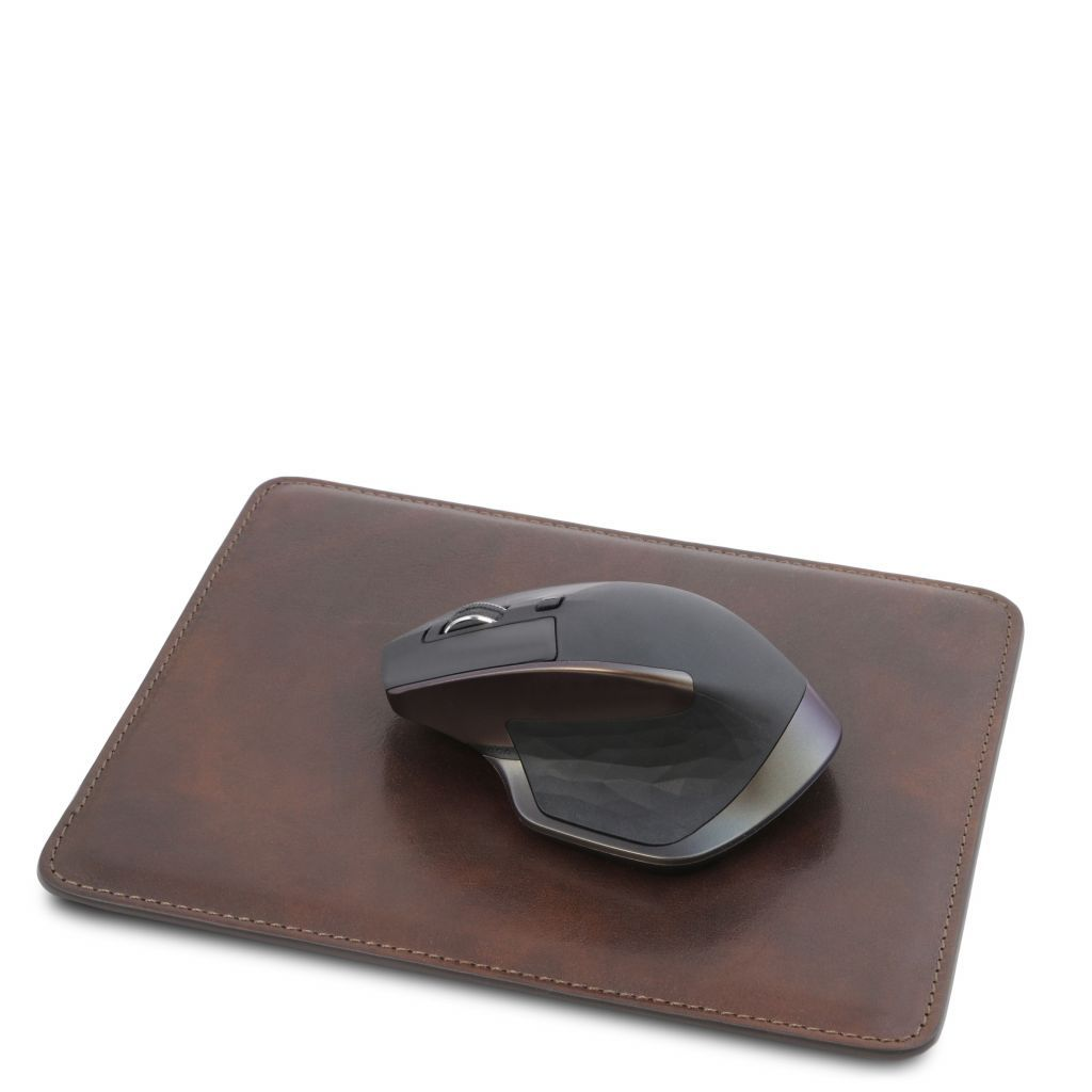Vegetable Tanned Leather mouse pad_9