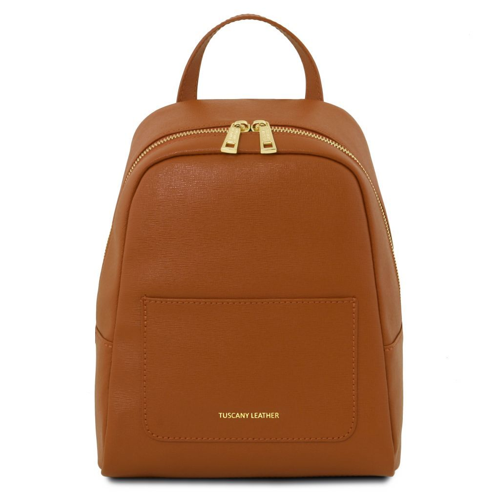 TL Small Saffiano Leather Backpack For Women_16
