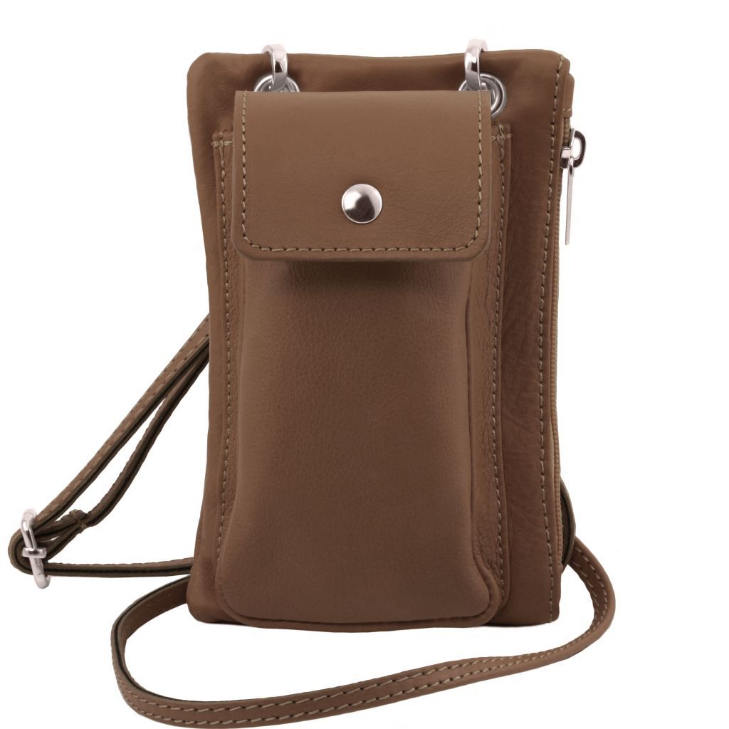TL Soft Leather Phone Pouch Mini Cross Bag_16