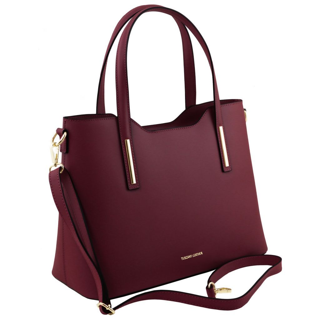 Olimpia Smooth Leather Tote (M)_2