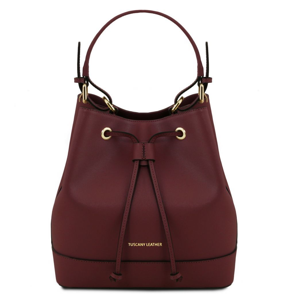 Minerva Saffiano Leather Bucket Bag_25
