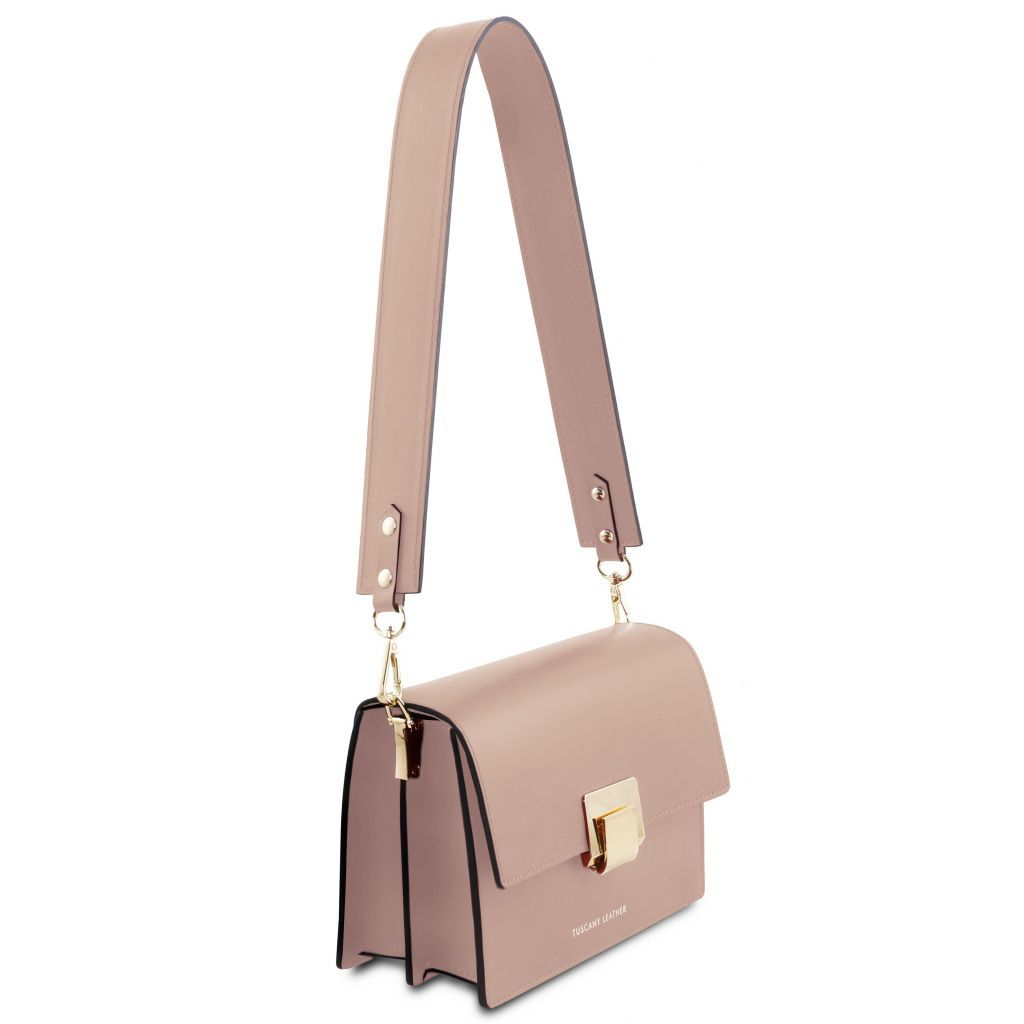 Adele Smooth Leather Clutch_26