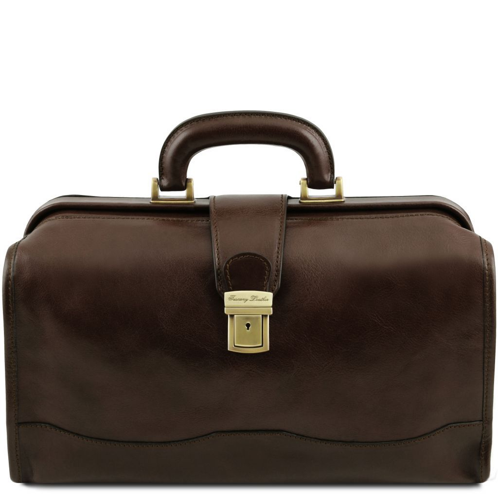 Raffaello Vegetable Tanned Leather Doctor bag_13