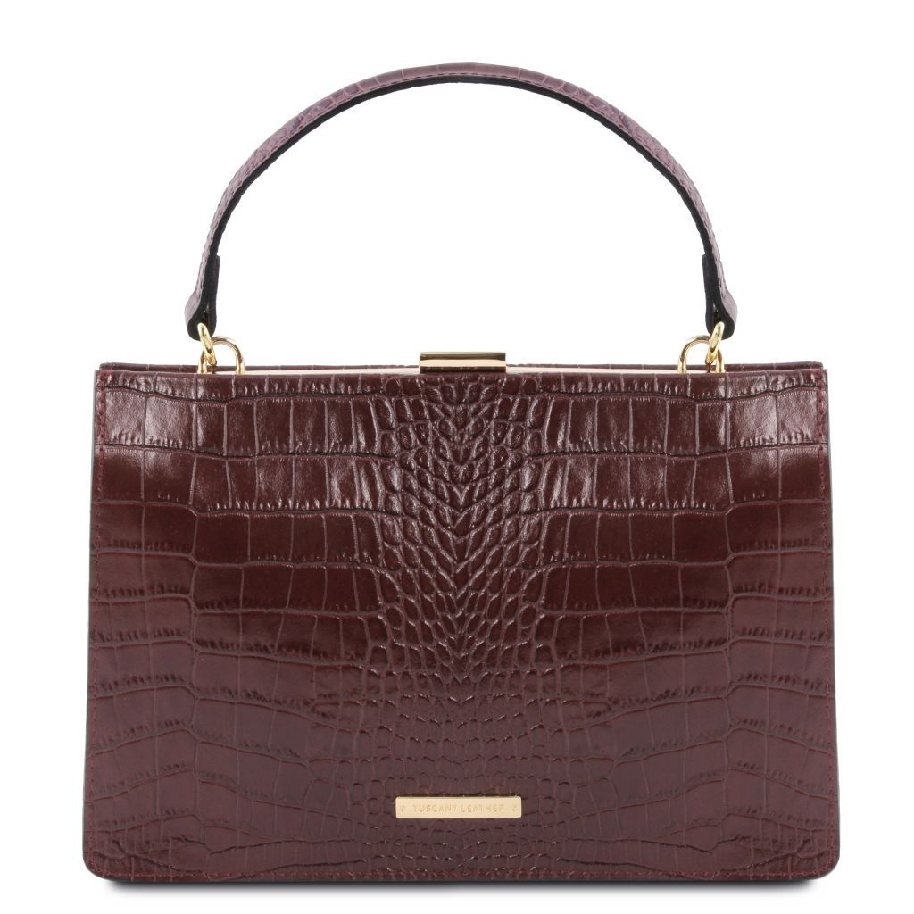 Iris Croc-Embossed Top Handle Bag_16