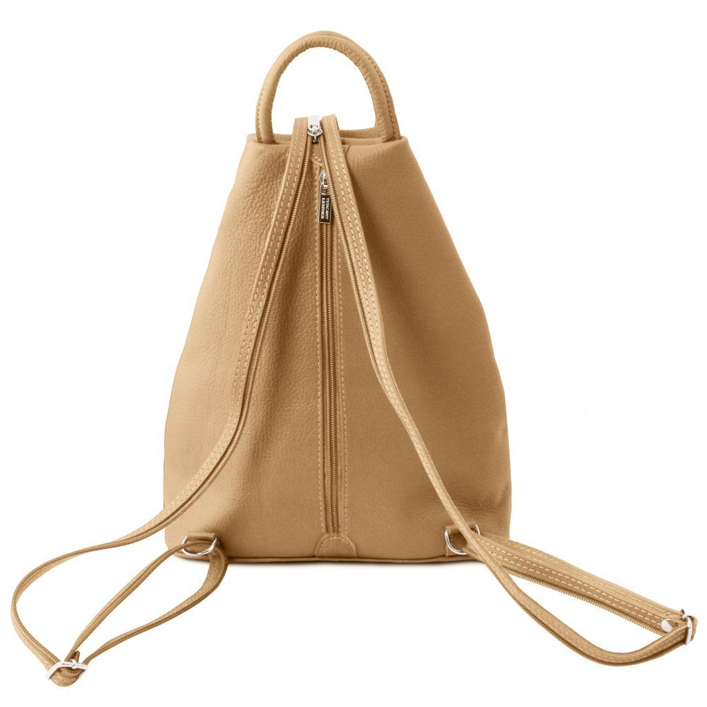 Shanghai Vegetable Tanned Leather Backpack_18