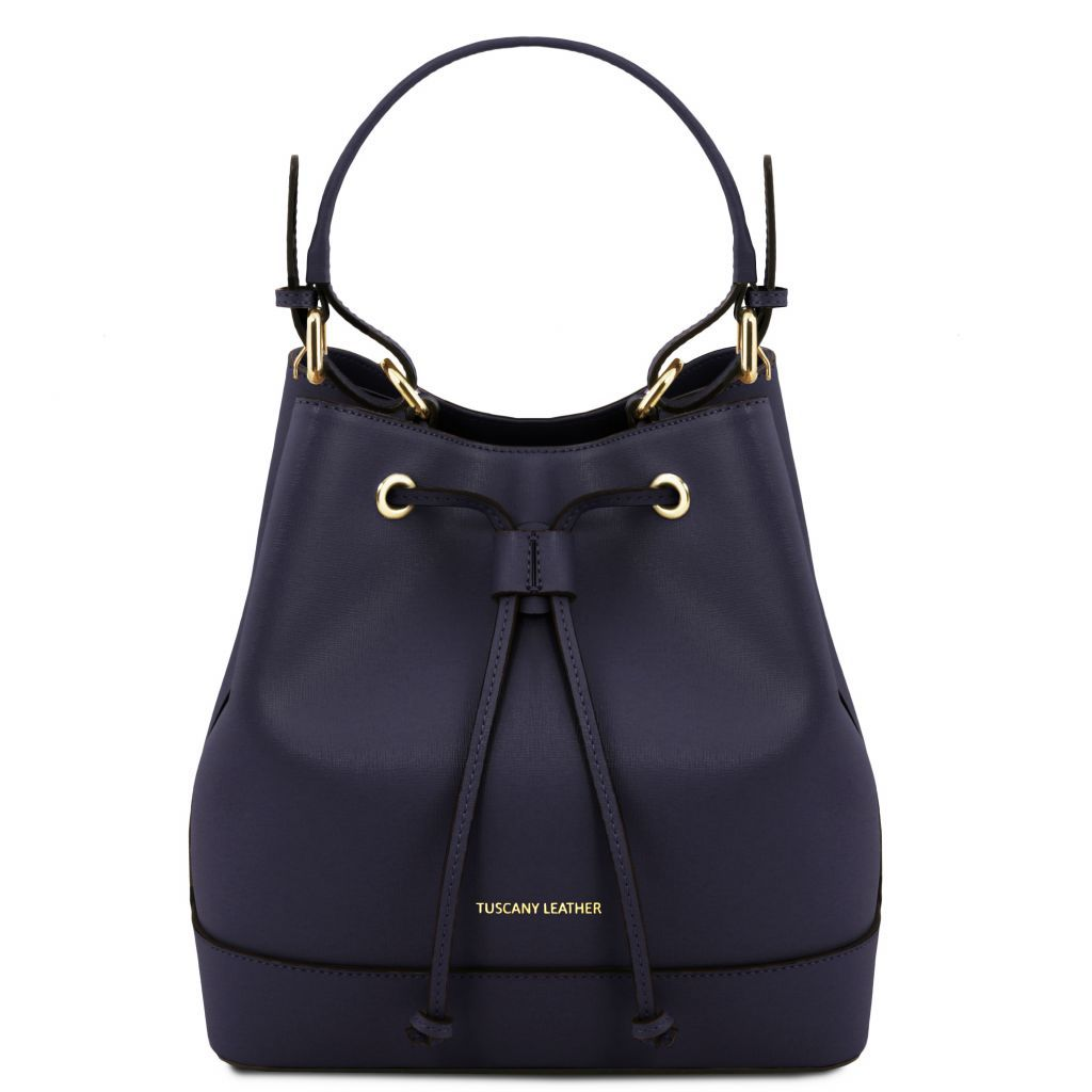 Minerva Saffiano Leather Bucket Bag_19