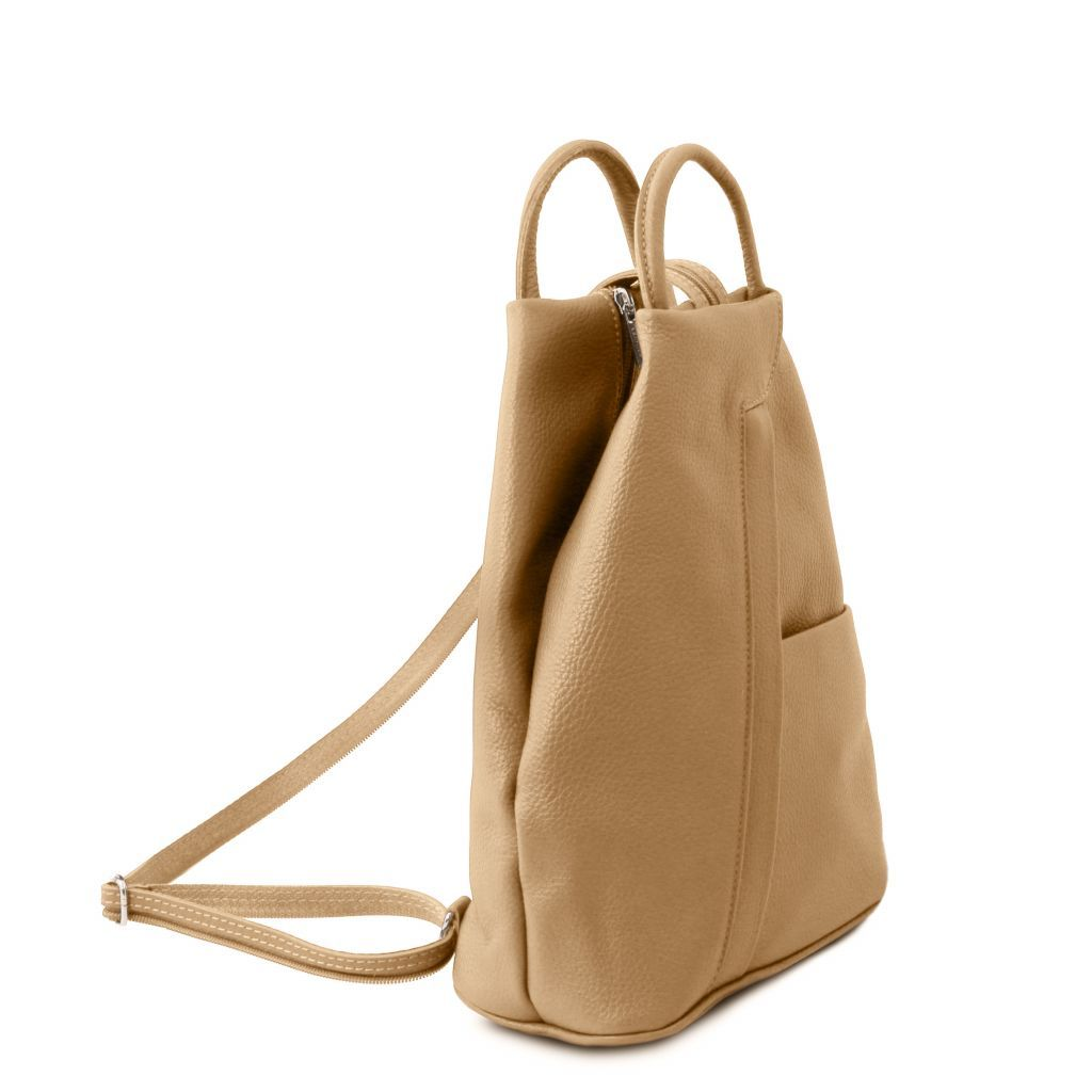 Shanghai Vegetable Tanned Leather Backpack_12