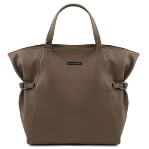 TL Soft Leather Shopping Bag_1