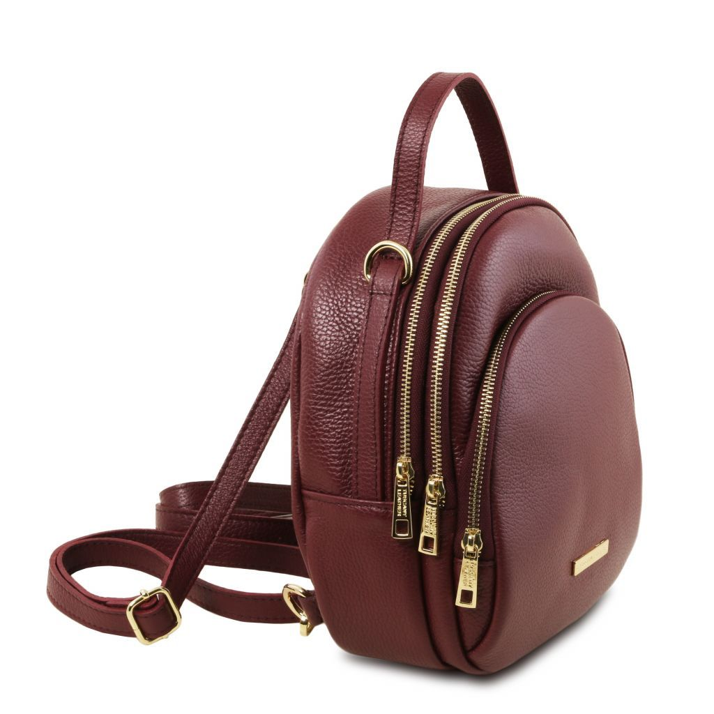 TL Hammered Leather Backpack For Women_25