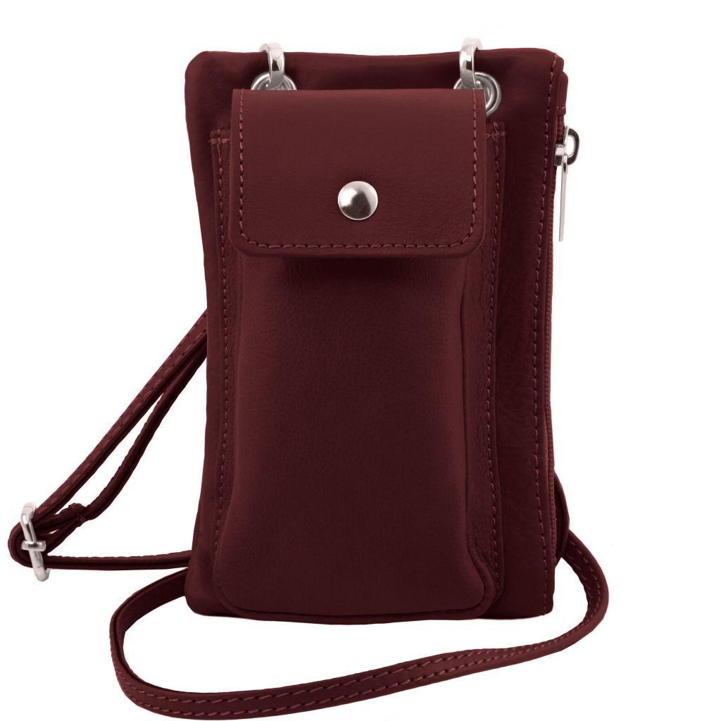 TL Soft Leather Phone Pouch Mini Cross Bag_15