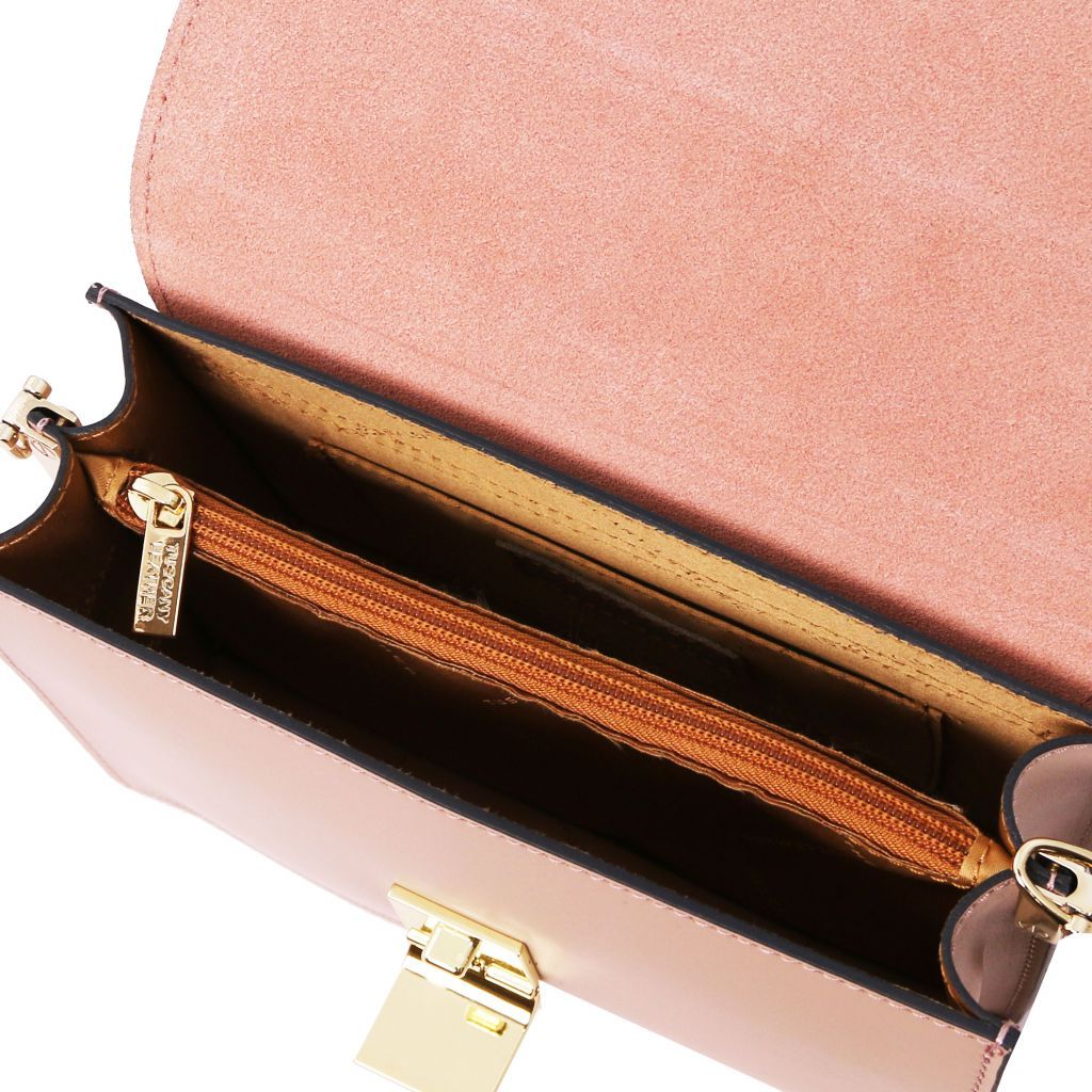 Adele Smooth Leather Clutch_27