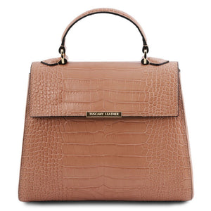 TL Croc-Embossed Top Handle Bag_2