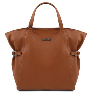 TL Soft Leather Shopping Bag_2